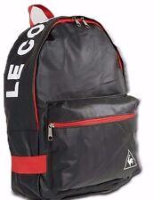 LE COQ SPORTIF Back Pack Sports Gym Bag Black & Red BNWT's