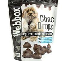 Gotas Choc - 250g (1pk/6pk) - webbox Perro Mascota De Chocolate De Algarrobo trata BP masticar PK