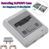 RETROFLAG SUPERPi-Case Vintage Super Style for Raspberry Pi 3B+ 2B 3B Safe Reset