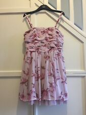 Next Women's 'Geri By Next' Pink Floral Special Occasion Prom Dress Size 12P