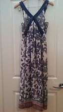Yumi butterfly maxi dress size UK12