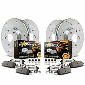 Power Stop K2070-36 Front & Rear Z36 Truck and Tow Brake Kit