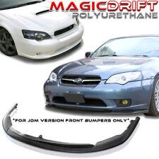 NEW CS1 Style Front Bumper Lip Urethane Plastic for JDM 05 06 07 SUBARU LEGACY