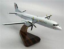 Saab-2000 Swedline Airways Airplane Mahogany Wood Model Large New