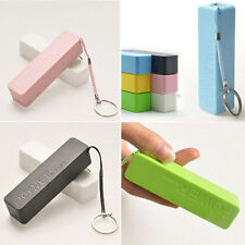 HOT DEALS- POWERBANK PHONE CHARGER USB 1000mAh /KEY RING FOR SAMSUNG - PINK