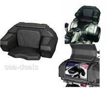 ATV Passenger Seat Rear Lounger Helmet Storage Cargo Luggage Accessories Rack