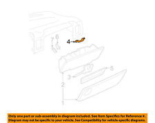 GM OEM Glove Compartment Box-Latch Striker 15039637