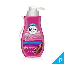 Veet Gel Hair Removal Cream, for Legs - Body, 13.5 oz