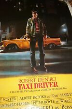 Taxi Driver Movie Poster 1996 promo Robert DeNiro Taxi Driver 40x27