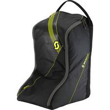 SCOTT MX Black Neon Yellow Dirt Bike Motocross BOOTS Bag Travel Carry Pack
