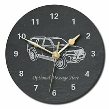 Mitsubishi Shogun Design Slate Clock - Personalised with text of your choice ...