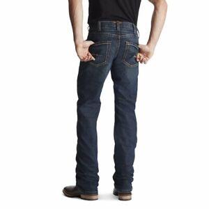 Mens Ariat M5 REBAR DuraStretch Slim Straight - 34' Leg - Sizes 30' to 40'