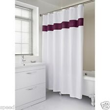 Diamante Shower Curtain One Size Fits In Every Toilet Various Colours