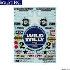 Tamiya 9495329 RC Sticker: WR-02 Wild Willy 2