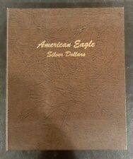 DANSCO Coin Album AMERICAN EAGLE SILVER DOLLARS  used