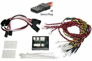 Beleuchtungsset Beleuchtung Multifunktion RC-Car Lichtset LED Blinker Bremslicht