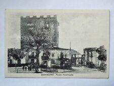 MONTELEPRE Piazza Ventimiglia Palermo vecchia cartolina