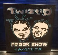 Twiztid  - Freek Show Sampler CD insane clown posse dark lotus psychopathic icp