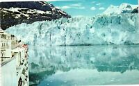 Vintage Postcard - Glacier Bay National Monument Alaska Un-posted #1350