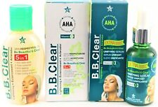 Bb Clear A.H.A Serum and Bb Clear Skin Unifying Oil With Aha & Vitamin C