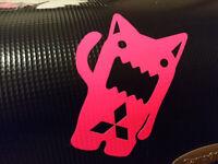 Halstuch Kopf nr2 Chester Sticker Aufkleber Linkin Park JDM Domo Autoaufkleber