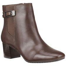 Women's Bandolino Lethia Bootie Brown Size 11 #NKVI3-842