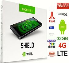 NVIDIA SHIELD K1 32 Go LTE 4 G 🔓 Débloqué ⭐ The Ultimate Gaming Tablette 🎮 Plug & Play