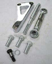 Small Block Chevy w/ Long Water Pump CHROME Aluminum Alternator Bracket SBC LWP