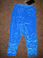 Corsaire-collant de danse ou  GRS- VICARD  en Velours bleu turquoise -en 34/36