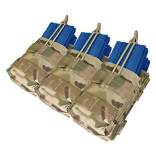 CONDOR ma44-008 MOLLE Triple Stacker Holds 6 Mag Nylon Pouch CRYE MULTICAM Camo