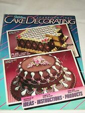 Wilton Cake Decorating Yearbook 1985 You Can Do It Book Ideas Candy Instructions