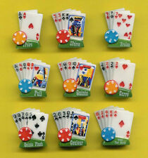FIGURINES POKER MANIA complete series ref.D91