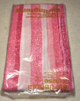 D7 Vintage New Burlington House Pillow Cases  NOS Pink & White GIFT IDEA Retro