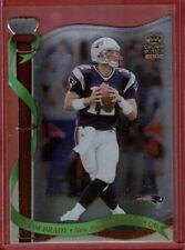 Tom Brady 2002 Pacific Crown Royale Die Cut Card #80