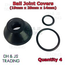 4x Ball Joint Covers 19/28/14 Dust Boot Cover Track Rod End Car Van Auto