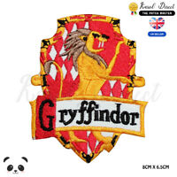 Harry Potter Gryffindor Movie Comics Embroidered Iron On Sew On PatchBadge