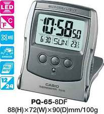 AUSSIE SELLER CASIO TRAVEL CLOCK PQ-65-8D PQ65 TEMPERATURE 12 MONTH WARRANTY