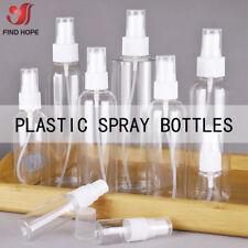 1/3/5pcs Empty Refillable Plastic Pump Spray Bottles Travel Perfume Atomiser PET