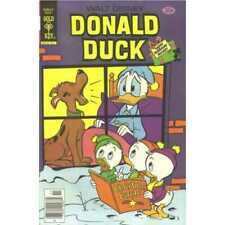 Donald Duck (1940 series) #201 in Fine condition. Dell comics [*km]