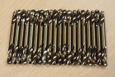 Lot of (20) #11 Cobalt Coated Double End Drill Bits Full Grounded