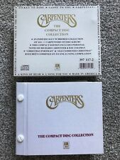 CARPENTERS THE COMPACT DISC COLLECTION MUSIC CD ALBUMS BOXSET LIMITED EDITION