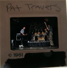 PAT TRAVERS Hooked on Music Heat in the Street Live Go for What You Know SLIDE 2
