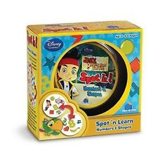 BN and Sealed Spot It! Numbers & Shapes- Jake Never Land Pirates- Box