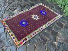 Carpet, Doormats, Small rug, Vintage handmade rug, Wool rug | 1,9 x 3,0 ft