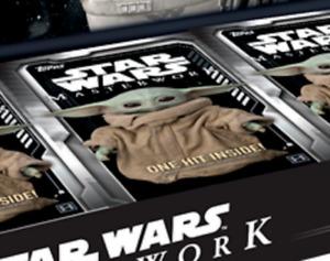 Topps Star Wars Masterwork 2020 Sealed Mini Box Trading Cards - 1 Hit