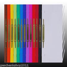 Schnellhefter A4 Pappe Karton A4 5er Pack Farblich sortiert oder uni