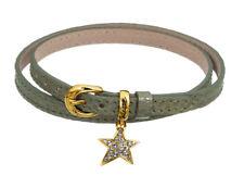 GUESS Bracelet chaîne de main ubb71248 - olivfarbenes wickellederarmband