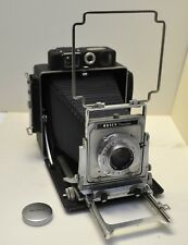 Busch Mressman 4x5 press Camera Wollensak Raptar 4.7/135mm lens vue focus