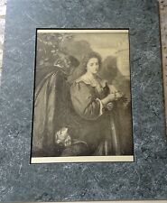 """RARE SHAKESPEARE PRINT FROM 1900 LTD COLLECTION EATON """"MUCH ADO ABOUT NOTHING"""""""