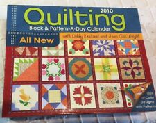 2010 Quilting Block And Pattern A Day Calendar New In Sealed Package